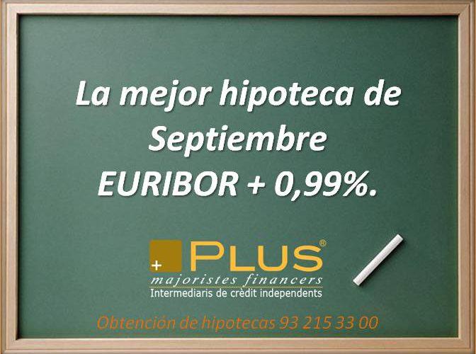 Mejor hipoteca Septiembre 2015, alternativa a ING