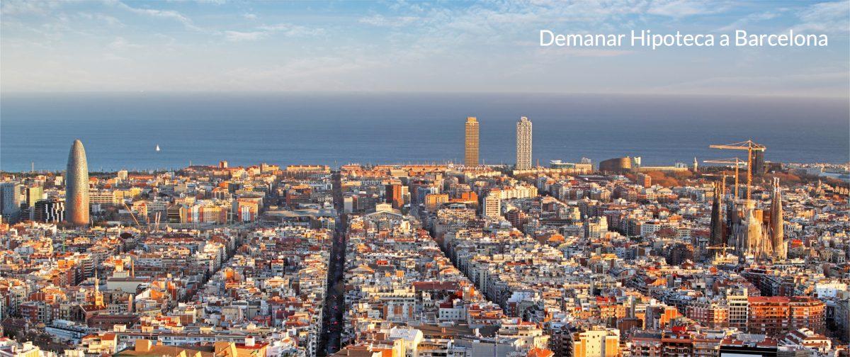 Demanar una hipoteca a Barcelona