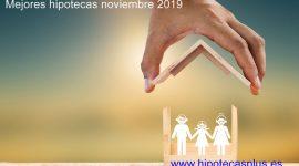 Mejores hipotecas del mes de noviembre 2019