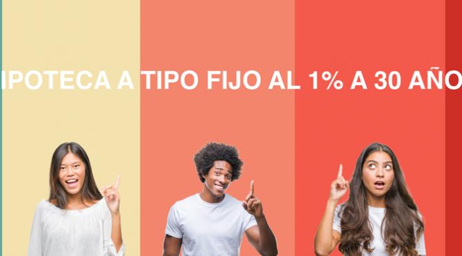 Hipoteca a tipo fijo al 1% a 30 años