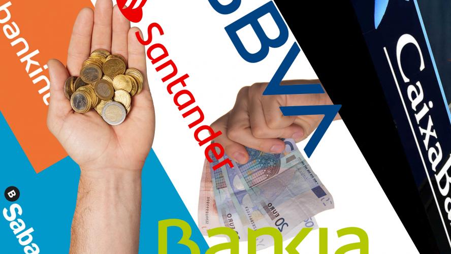 Comissions que cobren els bancs als seus clientes