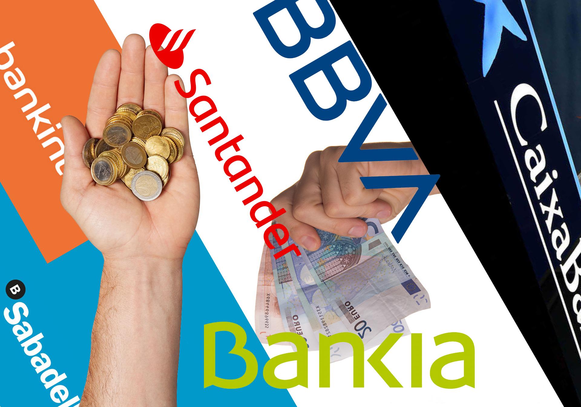 Comisiones que cobran los bancos a los clientes