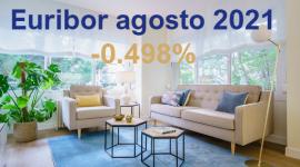 El Euríbor Agosto, baja su valor por tercer mes consecutivo