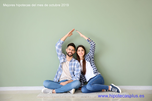 Mejores hipotecas del mes de octubre