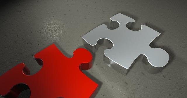 Foto de puzzle hipotecario